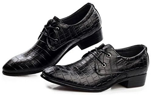 DADAWEN Derby homme/Sneakers Basses Homme Noir