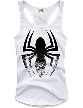 Spiderman - Camiseta sin mangas - Sin mangas - para mujer