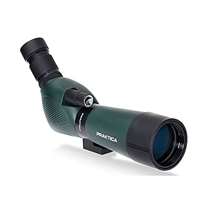 Praktica 20-60 x 60mm FMC Highlander Angled Spotting Scope with Tripod - Green