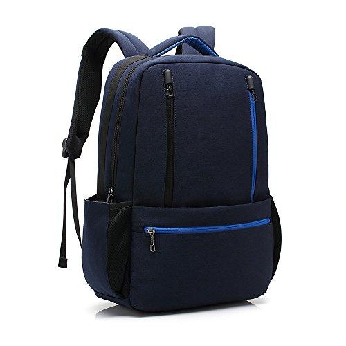 """Zaino da viaggio leggero per gli uomini, UBaymax Zaino da lavoro per lavoro scuola viaggio, zaino da viaggio freddo da viaggio 15,6 """" impermeabile borsa da macchina fotografica (15.6 inch Blu)"""
