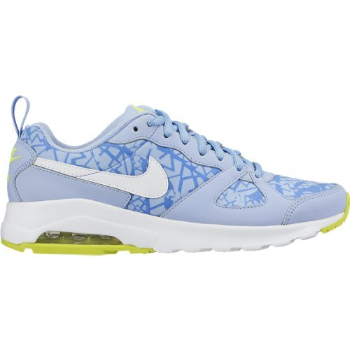 Nike Wmns Air Max Muse Print Chaussures, Femme, femme, Wmns Air Max Muse Print Blu/Bianco/Lime
