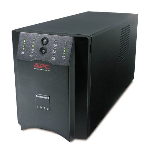 Buy APC SUA1500I – Smart-UPS 1500RS-232/USB – **New Retail** – 1500VA/670W Line Interactive – Warranty: 12M Discount