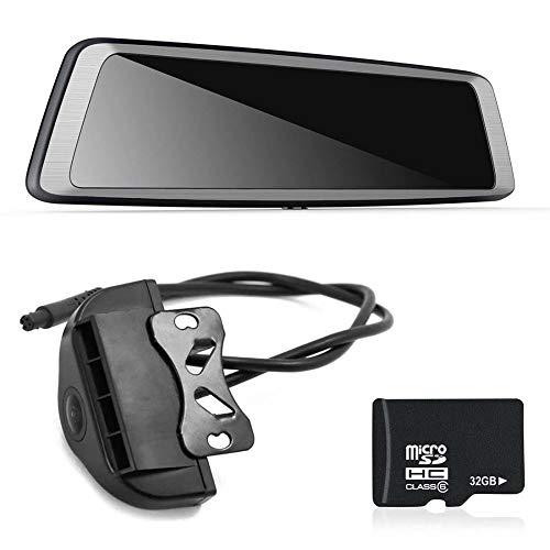 Wwave nuovo k930 da 10 pollici a schermo intero 4g touch ips special car dash cam rear view specchietto retrovisore con gps bluetooth wifi android 5.1
