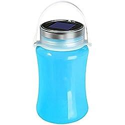 Ueasy 700ml ad energia solare campeggio lanterna LED impermeabile in silicone bottiglia design pieghevole Protable flash luce tenda luce di emergenza SOS, 100x 170mm
