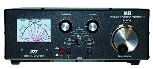 mfj-969Amateur Radio Deluxe HF ANTENNE Tuner W/Integrierter 4: 1Balun 300W 6-160Meter -