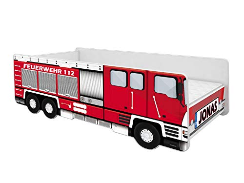 Feuerwehrauto Bett für Kleinkind