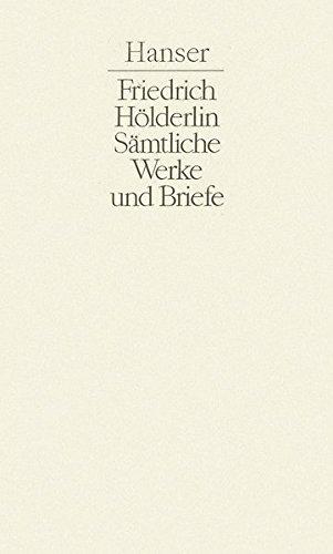 Sämtliche Werke und Briefe, 3 Bde.