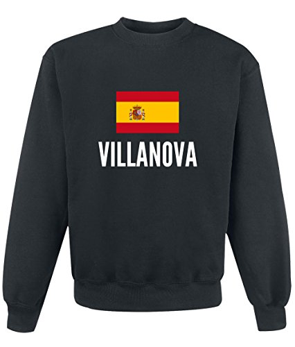 Felpa Villanova city Black