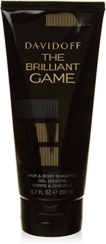 Body-shampoo (Davidoff The Brilliant Game homme/men, Hair and Body Shampoo, 1er Pack (1 x 200 g))