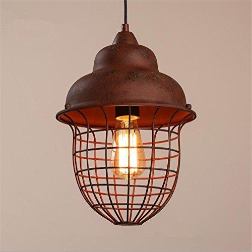 Innenbeleuchtung schmiedeeisernen Lampen Vintage kreative Industrie ländlichen retro Loft style ein Kopf durch Metall Kiste in grün Pendelleuchte Deckenleuchte der Beleuchtung für Bar Restaurant Cafe