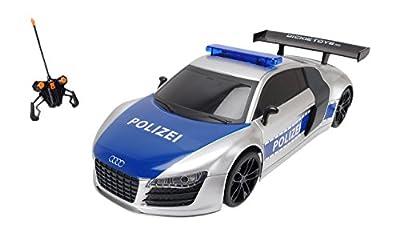 Dickie Toys 201119059 - RC Highway Patrol, funkferngesteuertes Polizeiauto inklusive Batterien, 28 cm von Dickie Spielzeug