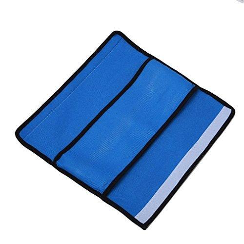 5Five Autokissen kinder Sicherheitsgurt mit Schulterpolstern Sicherheitsgurt für Kinder (dunkelblau)