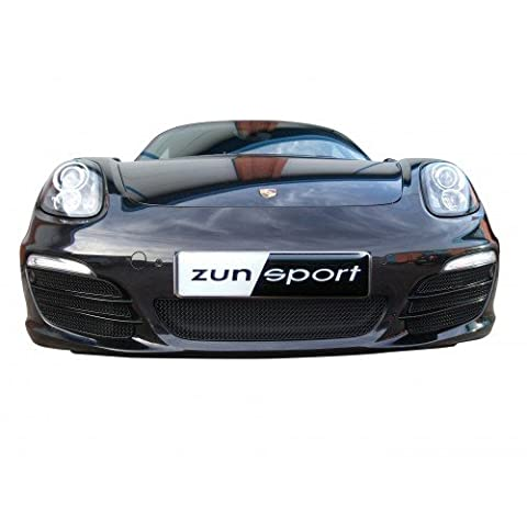 Porsche Boxster 981 - Ensemble calandre intégral (avec capteurs de stationnement) - Finition noir (2012 to 2016)