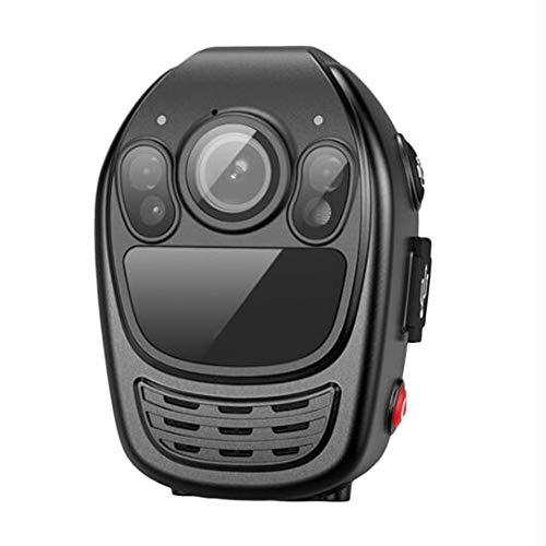 DX.JLY HD 1080P Polizeikörper mit 2,0 Zoll LCD-Bildschirm Nachtsicht für Strafverfolgungs-Videorecorder Nachtsichtgerät IP67 Schutzstufe,64GB - Polizei-videorecorder