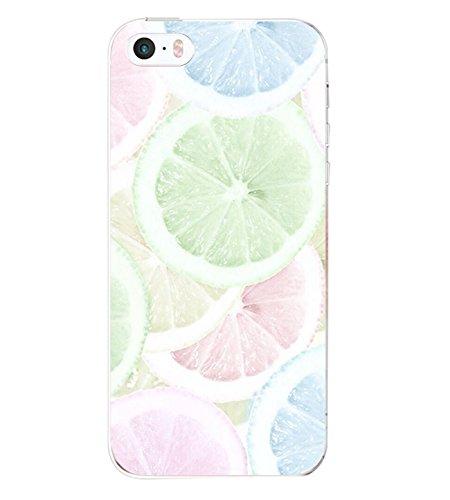 iPhone 5 Custodia Marmo TPU Gel Silicone Protettivo Skin Custodia Protettiva Shell Case Cover Per Apple iPhone 5s (8) 4