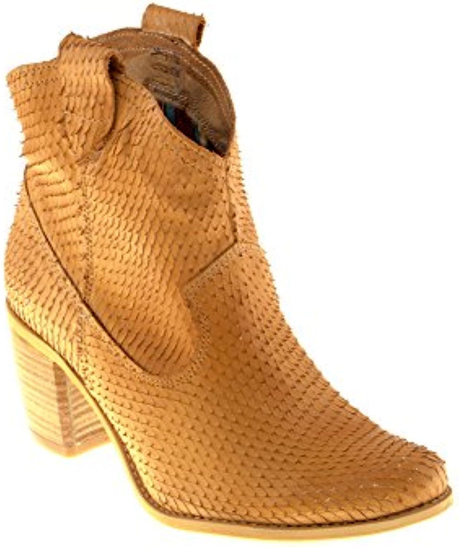 Felmini Scarpe Donna - Innamorarsi Innamorarsi Innamorarsi COM Vegas 7487 - Stivali Cowboy & Biker - in Pelle Genuina - Marronee   elegante    Uomo/Donna Scarpa  67a70f