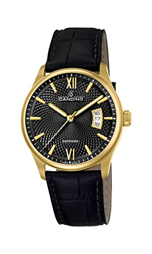 Candino Mens Analogue Classic Quartz Watch with Leather Strap C4693/3