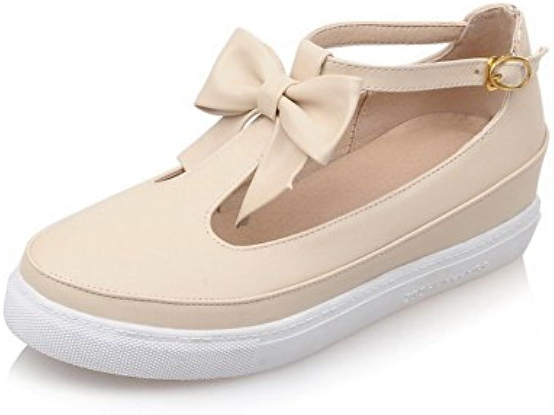 agoolar woHommes 's round fermé toe talons boucle bas matériaux mous b01k224240 boucle talons de solides chaussures ou pompes 6f5ba6