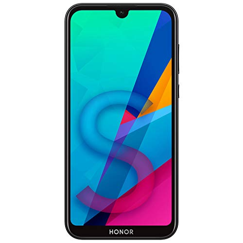 HONOR 8S Dual SIM, 32GB storage, 13MP AI Rear Camera, 5.71 Inch Full View Display, Android 9.0, UK Official Device - Black Best Price and Cheapest