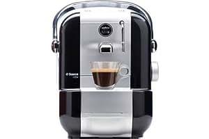 Philips Saeco Amodo Mio Pod Coffee Machine 0.9L Black–Coffee Makers (Pod Coffee Machine, Black, Stainless Steel, Espresso, Cappuccino, 235x 305x 330mm)