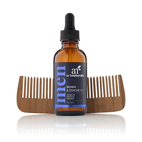 Reines Bartöl und Pflege Conditioner mit Jojoba & Arganöl Abbildung 2