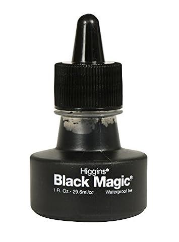 Higgins 440111oz Magic étanche, encre pigmentée, noir