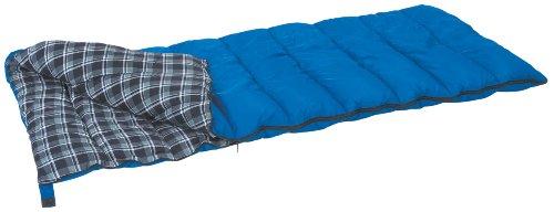 Stansport Prospector rechteckig Schlafsack (blau Plaid, 35-Degree)