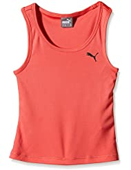 PUMA chicas' Top see G se activa Rojo Red - Cayenne Talla:5 años