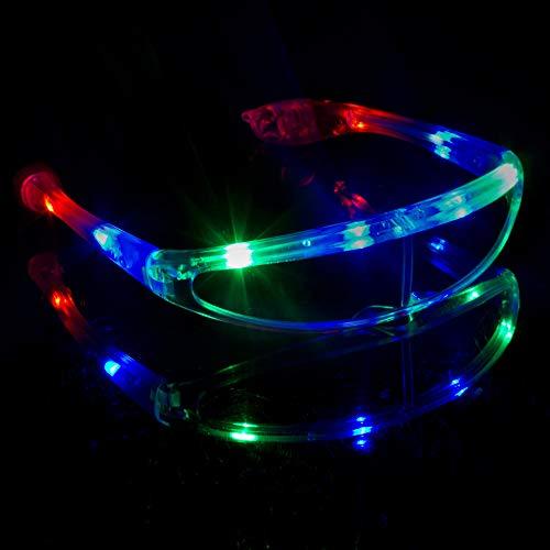 MODEOR G731 LED leuchten Spaceman Shades, leuchten Shades, LED Shades für Partys, Rave Party leuchten Shades
