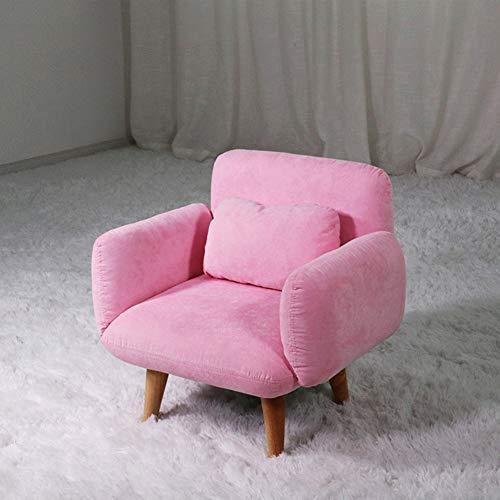YXLHJY Macaron Cute Kinder polsterstuhl, Kinder sofacouch Baby Leder-Stoff Kleines Sofa Kinder lesen Sofa Sitz Für Junge m?dchen Baby Lazy Couch-B