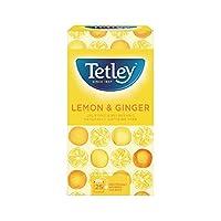 Tetley Lemon and Ginger Tea Bags - Pack of 25