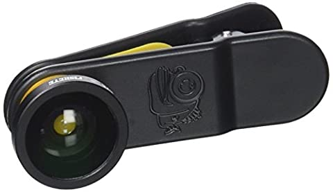 Black Eye Fish Eye Smartphone and Tablet Clip on Camera