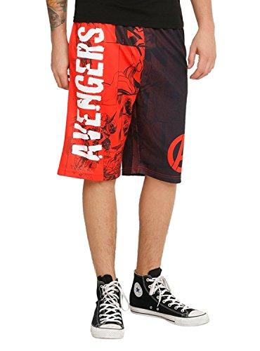 Guys Basketball Shorts (Marvel-basketball-shorts)