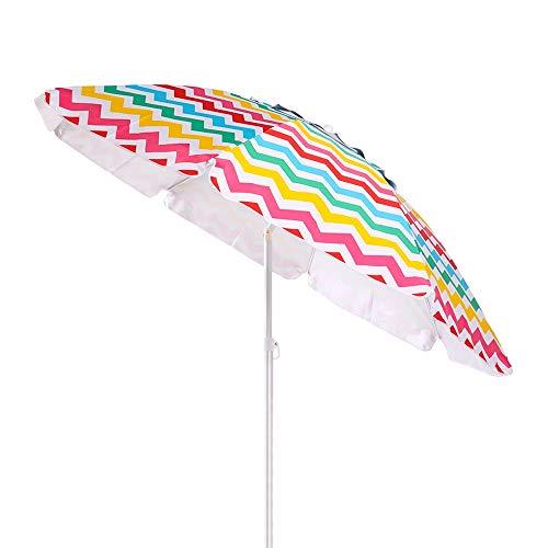 Sombrilla de Playa Parasol de Aluminio 200 cm Garden - LOLAhome
