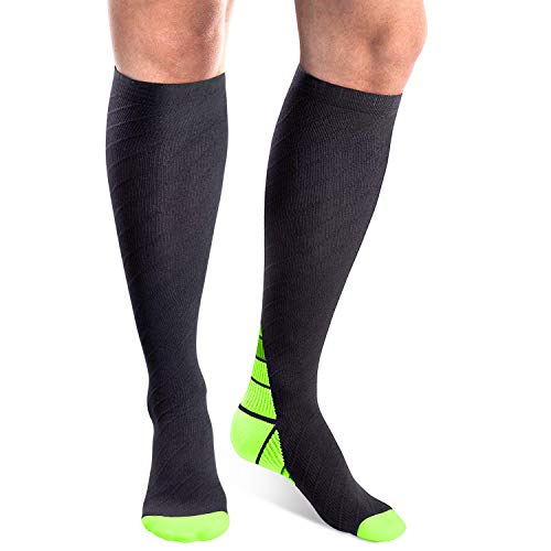 arteesol Kompressionsstrümpfe Compression Socks Thrombosestrümpfe Damen Herren Strümpfe Sport,Sprunggelenkschutz