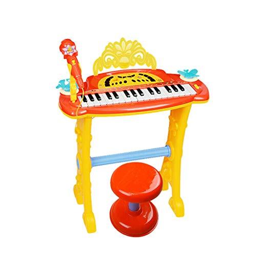 b718c4b8411 LIUFS-Tastiera Macchina da canto di educazione precoce di musica di puzzle  del microfono del