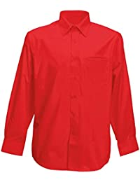 Classic Mens Long Sleeve Easy Care Formal Shirts