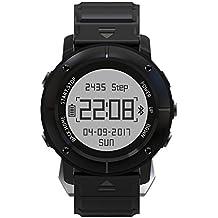 [Oferta] Smartwatch GPS Deportivo Sumergible, HAMSWAN Reloj Deportivo Inteligente Bluetooth 4.2 11 con GPS Antigolpe Antipolvo Antiagua Hasta Bajo de 50M, Aplicación para Smartphone, Control de Pulso Cardiaco, Controlador de Ejercicios para Exploradores y Entusiastas
