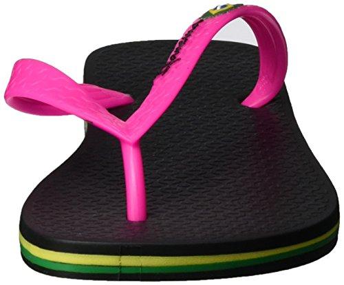Ipanema Damen Classic Brazil Ii Fem Zehentrenner Mehrfarbig (black/pink-8018)