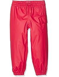 Hatley Childrens Splash Pant -Red - Pantalones Impermeable Niños