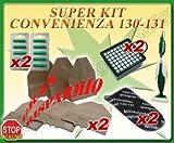 Sconosciuto Super SCORTA Sacchi Sacchetti Filtro ASPIRAPOLVERE Folletto VK 130 VK 131