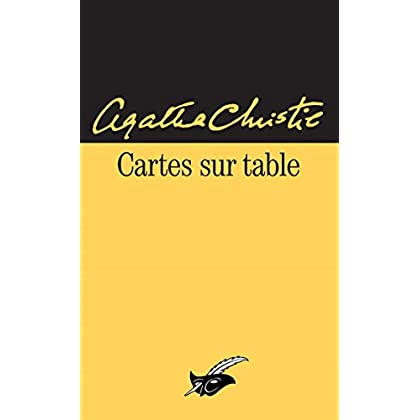 Cartes sur table (Masque Christie)