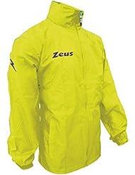 Zeus - K-Way pour homme - Course, sport, pluie, running, jogging, entraînement, détente, football, futsal, école - Imperméable - Personnalisable