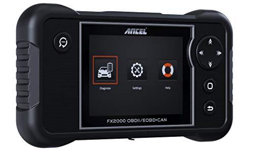 ANCEL FX2000 Scanner OBD2 Voiture Multimarque 4 Systèmes Diagnostic Auto Moteur/ABS/SRS(Airbag)/Boite Automatique à Vitesse en français