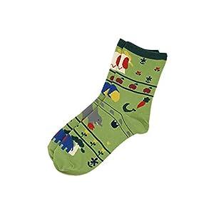 FANRUOM Socken Die Baumwollsocken der Frauen niedliche Malereikarikaturtierentwurfs-Mädchensocken des Spaßes
