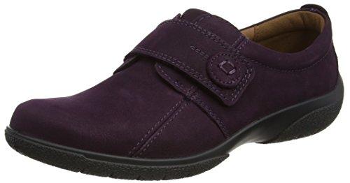 Hotter Women's Sugar Closed-Toe Loafers, Purple (Plum), 7 UK 41 EU