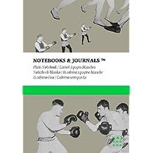 Carnet Notebooks & Journals, Boxe (Collection Vintage), Extra Large, Blanc: Couverture souple (17.78 x 25.4 cm)(Carnet de Notes, Carnet de Voyage, Cahier de Texte)