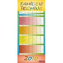 Familienplaner Regenbogen 2010: 5 Spalten