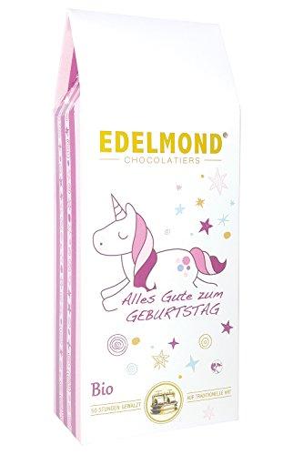 Edelmond Einhorn Bio. Tolle Frucht Schokolade, ein liebliches Geschenk ohne Farbstoffe und...