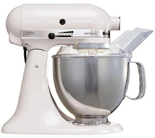 KitchenAid Küchenmaschine Artisan weiß 5KSM150PSEWH